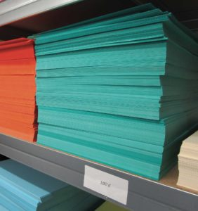 Papier couleur - Imprimerie l'Angérien Libre