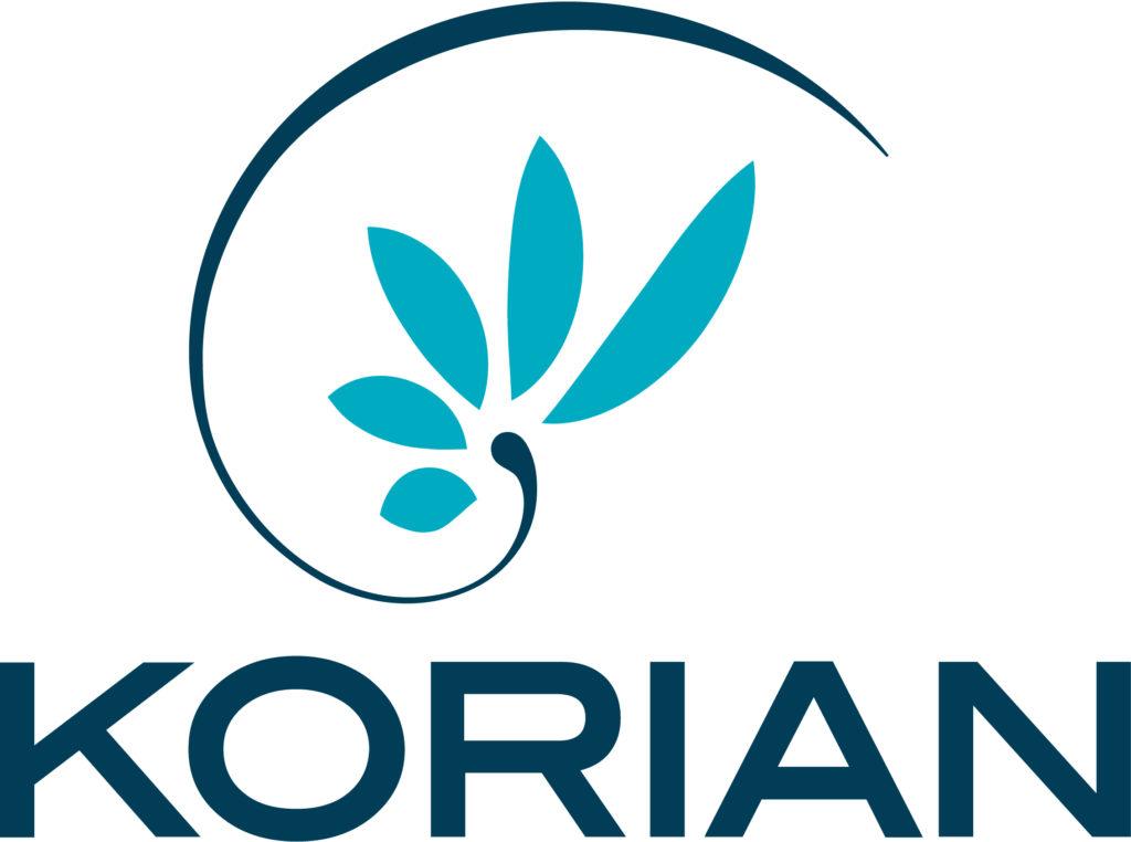 Logo Korian - Partenaire de l'Imprimerie l'Angérien Libre