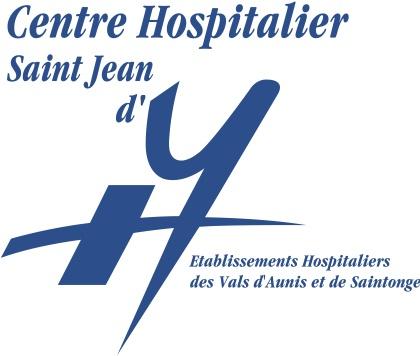 Logo Centre hospitalier de Saint-Jean-d'Angély - Partenaire de l'Imprimerie l'Angérien Libre