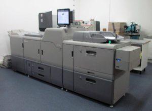 Imprimante numérique Ricoh - Imprimerie l'Angérien Libre